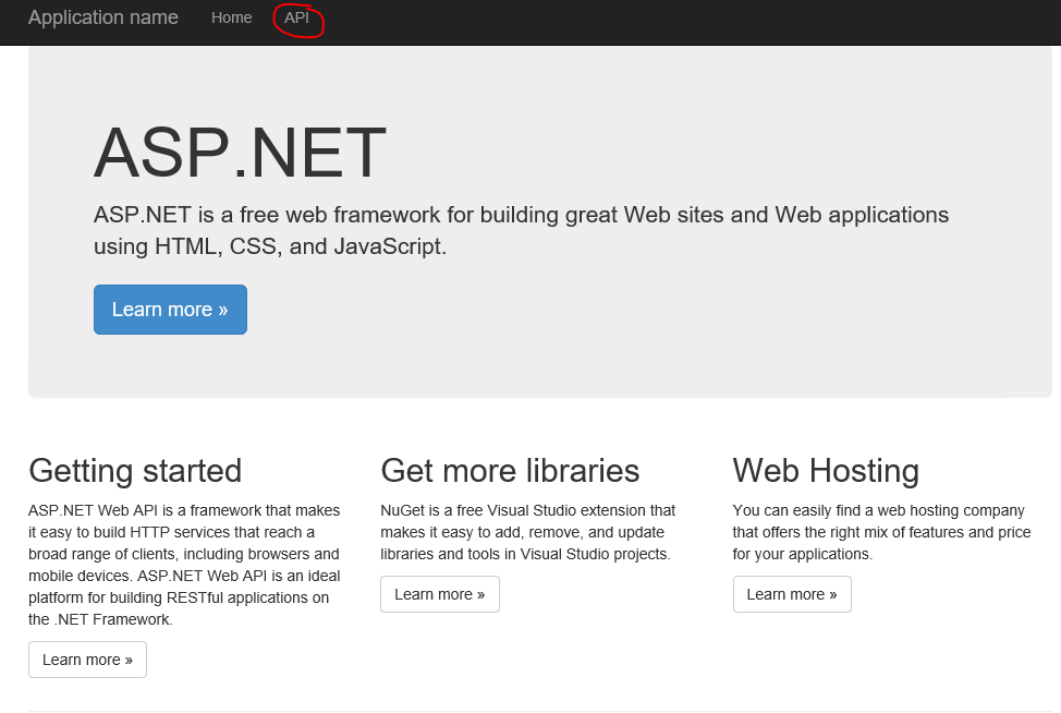 ASP.NET Web API initial look - Creating A REST Webservice