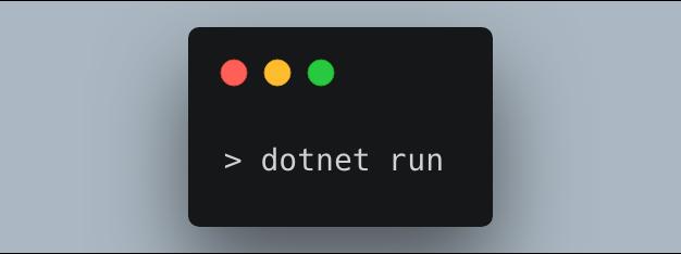 dotnet cli run command